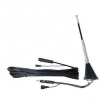 Antena auto cu amplificator Automax, 20 cm, 12 V, model universal