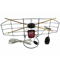Antena camera cu amplificator si reglaj Kemot, 30 dB