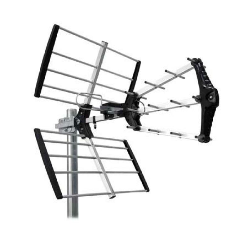 Antena DVB-T Cabletech, activa, amplificator incorporat, 21-69 de canale 2021 shopu.ro