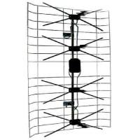 Antena exterior cu amplificator Kemot, 13.5 - 60 dB