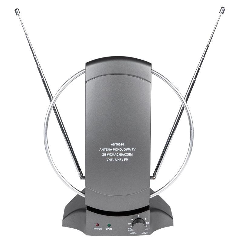 Antena TV de camera cu amplificare ANT0020, alimentare 12V 2021 shopu.ro