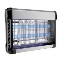 Aparat anti-insecte, lumina UV, 2 x 10 W, carcasa aluminiu, Negru