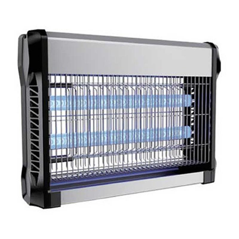 Aparat anti-insecte, lumina UV, 2 x 10 W, carcasa aluminiu, Negru shopu.ro