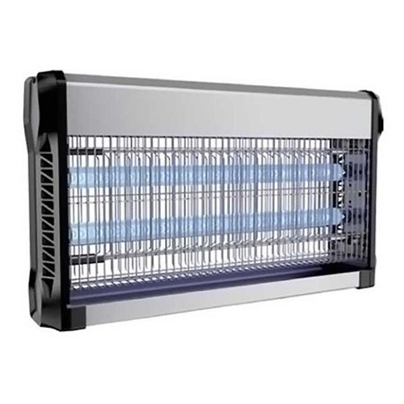 Aparat anti-insecte, lumina UV, 2 x 15 W, carcasa aluminiu, Negru 2021 shopu.ro