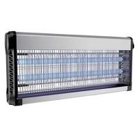 Aparat anti-insecte, lumina UV, 2 x 20 W, carcasa aluminiu, Negru