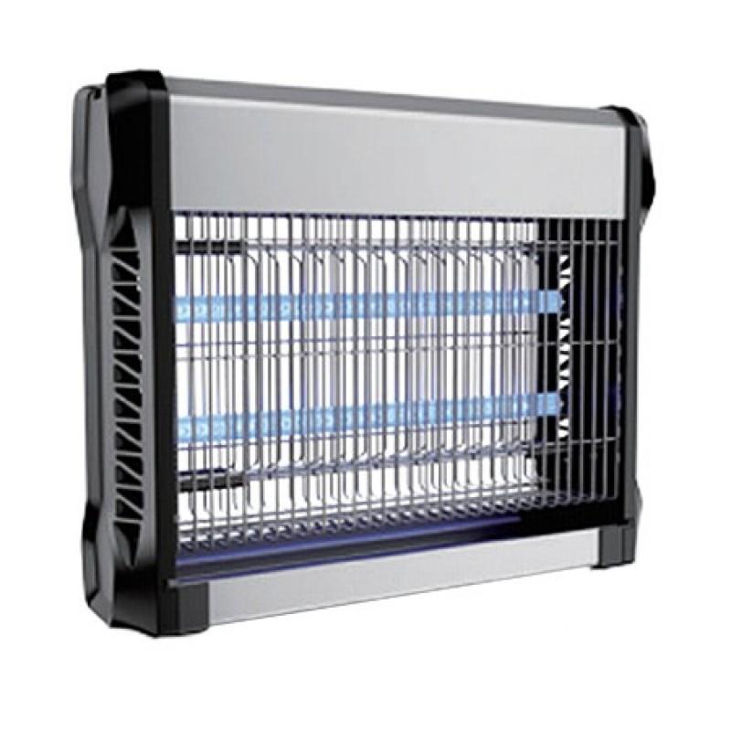 Aparat anti-insecte, lumina UV, 2 x 8 W, carcasa aluminiu, Negru shopu.ro