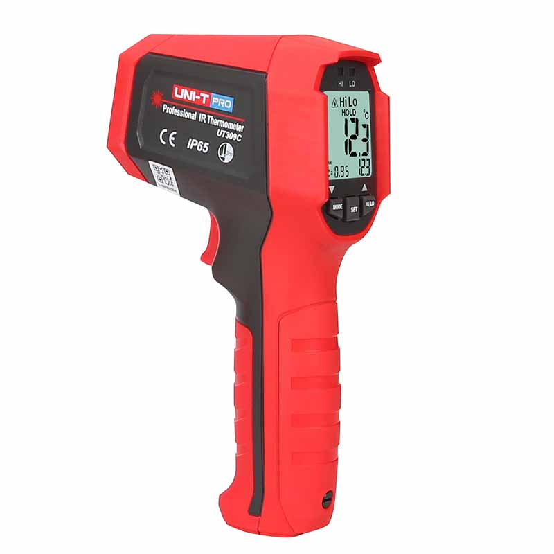 Aparat de masura digital cu infrarosu si termometru UT309C UNI-T Pro, LED, ecran luminat