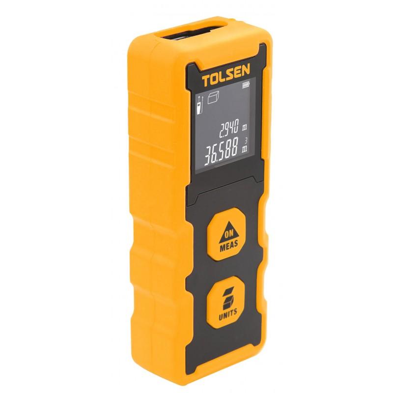 Aparat de masurare la distanta laser Tolsen, interval masurare 0.2 - 20 m 2021 shopu.ro