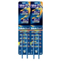 Set aparate de ras Gillette Blue ll Plus, 20 bucati, aparate de ras Gillette Blue3, 4 bucati