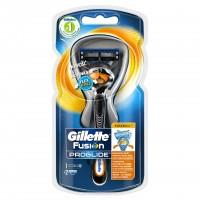 Aparat de ras Gillette Fusion Proglide manual Flexball, 2 rezerve incluse