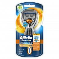 Aparat de ras Gillette Fusion Proglide Power Flexball, rezerva inclusa
