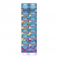 Set aparate de ras Gillette Simply Venus3 Plus Card, 12 bucati