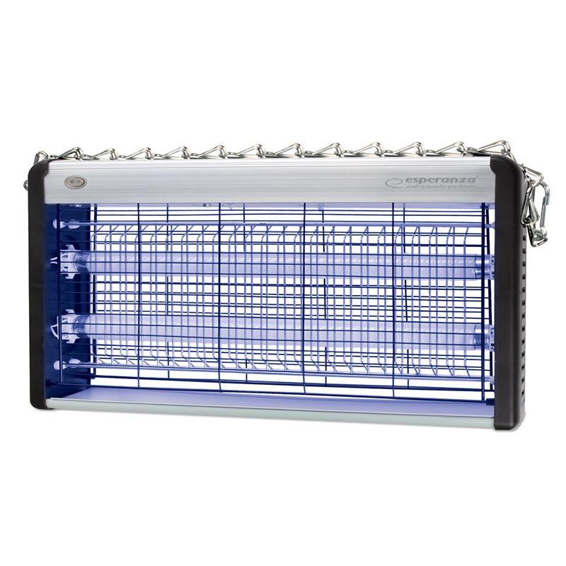 Lampa UV impotriva insectelor Swift Esperanza, 2 x 15 W, 100 mp