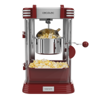 Aparat pentru popcorn Cecotec Fun Taste Corn Classic, 300 W, inox, lumina interna
