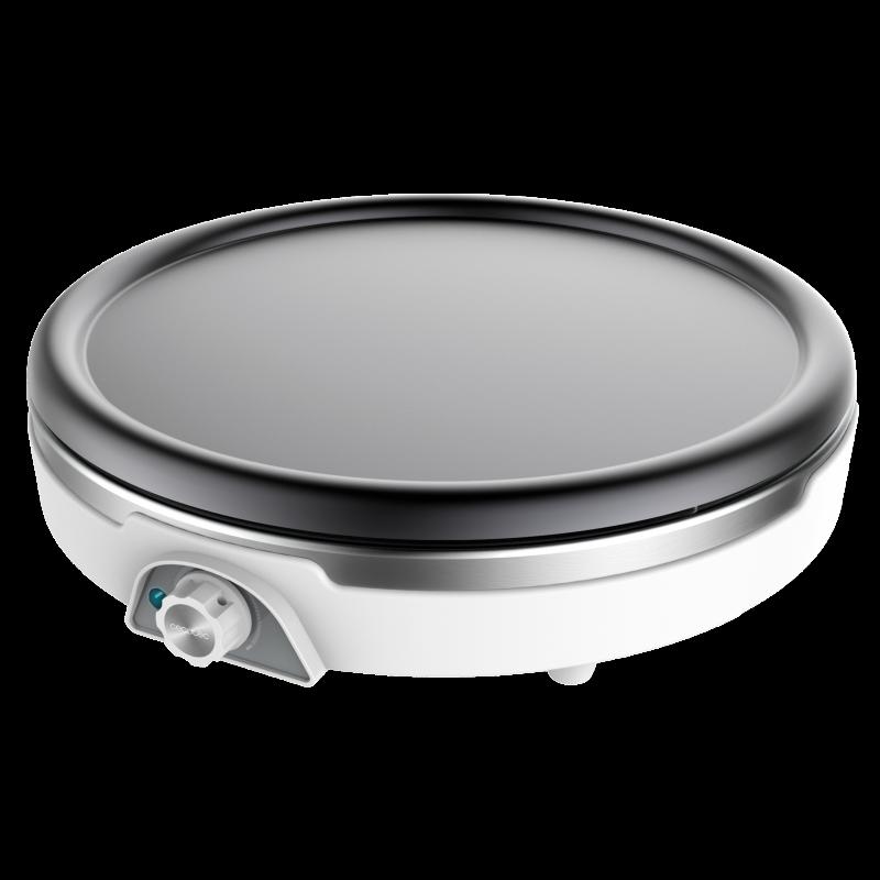 Aparat pentru preparat clatite Cecotec Fun Crepestone XL, 1350 W, 38 cm, LED, accesorii incluse 2021 shopu.ro