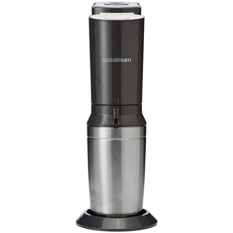 Aparat sifon Crystal SodaStream, 750 ML, capac ermetic, butelie CO2, Black 2021 shopu.ro