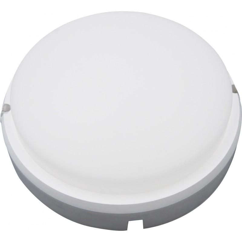 Aplica exterior cu LED Well, 18 W, 1350 Im, 4000 K, 17.5 cm, rotund, Alb 2021 shopu.ro