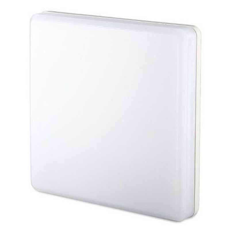 Aplica LED, 15 W, 1250 Im, 3000 K, lumina alb calda, patrat