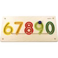 Aplicatie de perete Numere 6-9 Beleduc, lemn