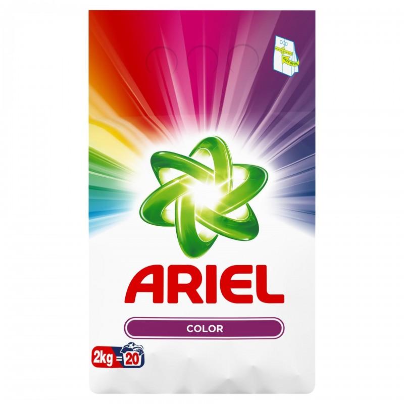 Detergent de rufe automat Ariel Color, 2 kg 2021 shopu.ro