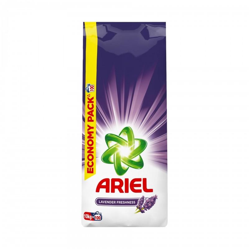 Detergent de rufe automat Ariel Lavanda, 10 kg 2021 shopu.ro