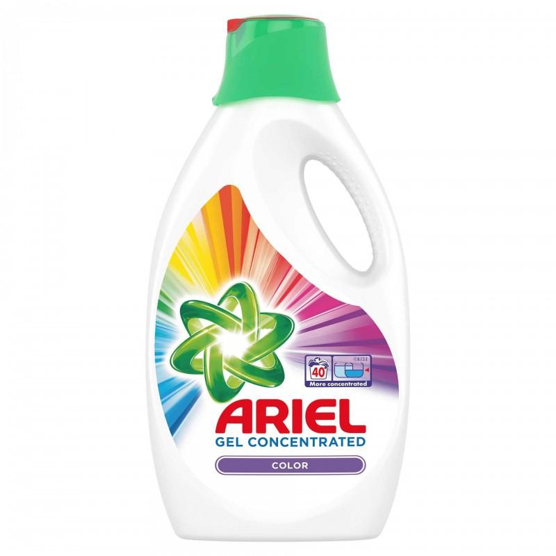 Detergent de rufe lichid automat Ariel lichid Color, 2.2 l 2021 shopu.ro