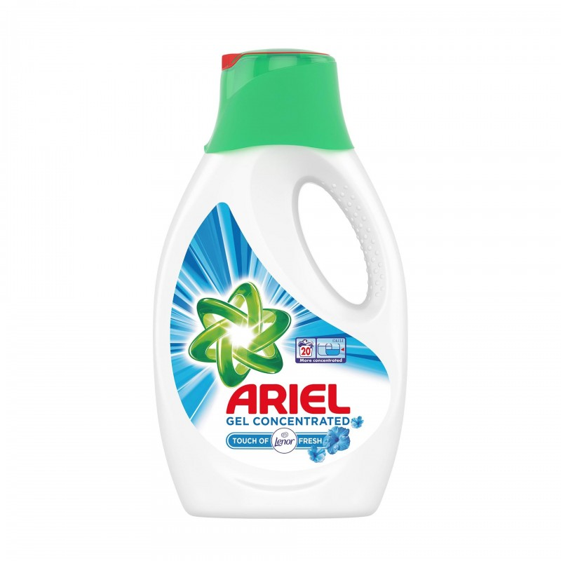 Detergent de rufe lichid automat Ariel Lenor Touch, 1.1 l 2021 shopu.ro