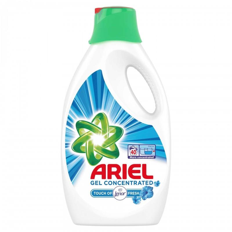 Detergent de rufe lichid automat Ariel automat Lenor Touch, 2.2 l 2021 shopu.ro