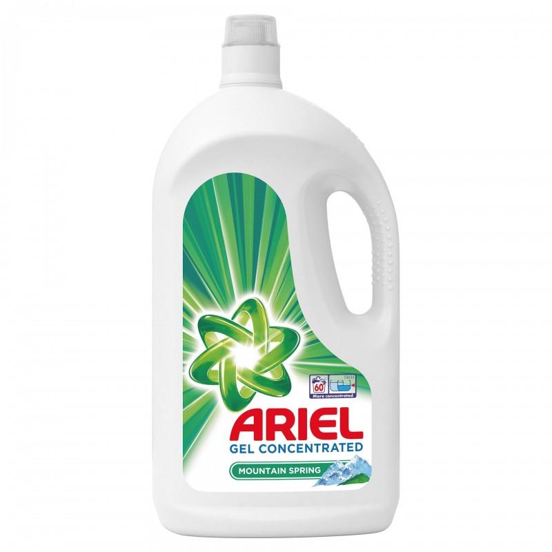 Detergent lichid automat Ariel Mountain Spring, 3.3 l, 60 spalari 2021 shopu.ro