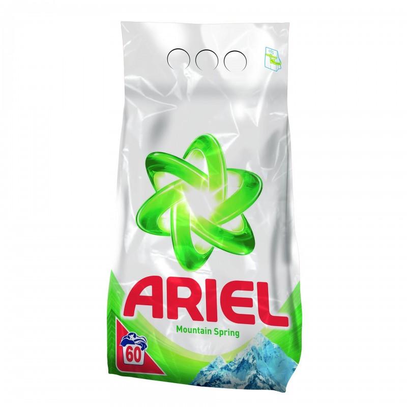Detergent de rufe automat Ariel Mountain Spring, 6 kg 2021 shopu.ro