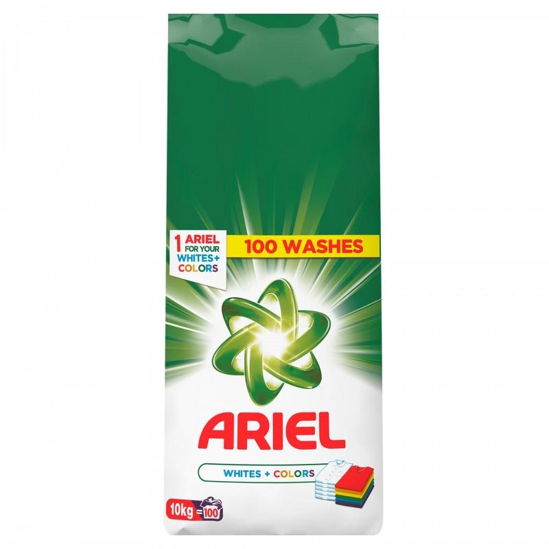 Detergent de rufe automat Ariel White&Color, 10 kg