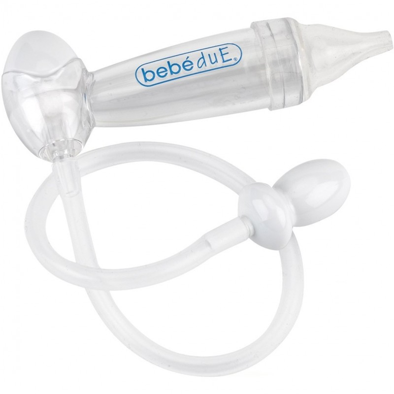 Aspirator nazal BebeduE  cu filtru, 10 filtre incluse