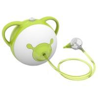 Aspirator nazal electric Nosiboo Pro, 62 dB, cap flexibil, Verde/Alb