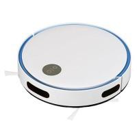 Aspirator robot V-Tac, 2000 mAh, 120 mp, 430 ml, filtru HEPA, telecomanda, Alb