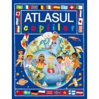 Atlasul copiilor Corint, 40 pagini, 5 ani+