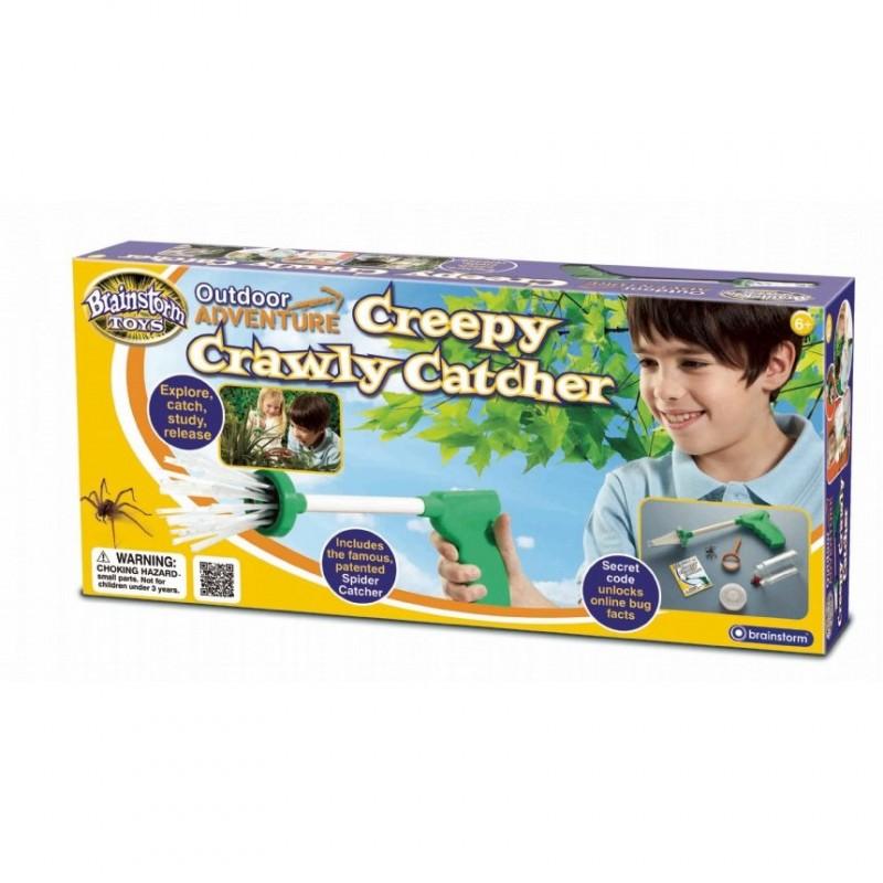Capcana insecte pentru copii Brainstorm Toys, Verde/Transparent 2021 shopu.ro