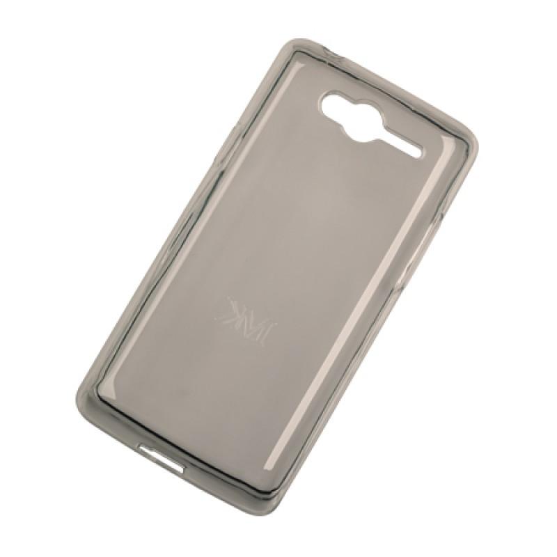 Husa Back Cover Case telefon Kruger & Matz Drive 2, silicon, protectie contra zgarieturilor, Gri 2021 shopu.ro