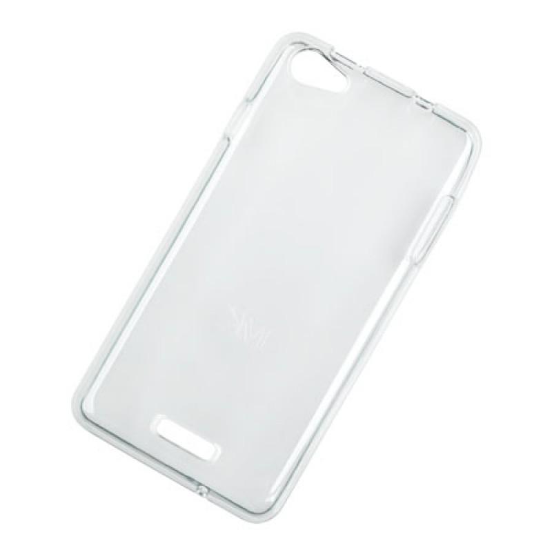 Husa Back Cover Case telefon Kruger & Matz Flow, silicon, transparent 2021 shopu.ro
