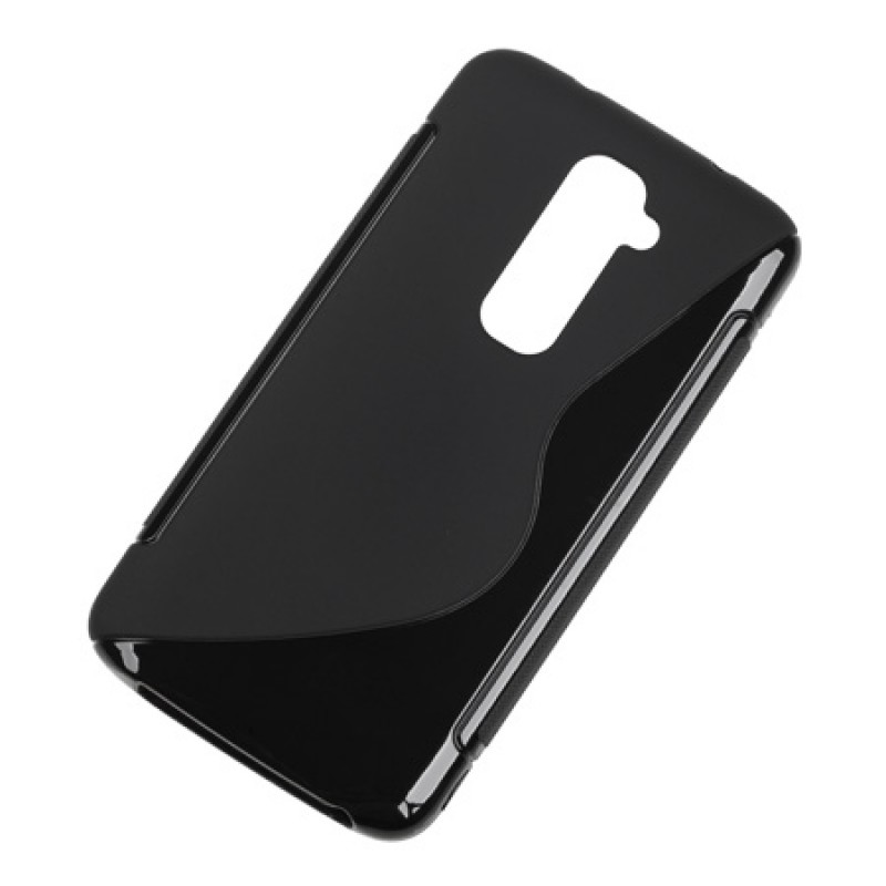 Husa Back Cover Case telefon LG G2, Negru