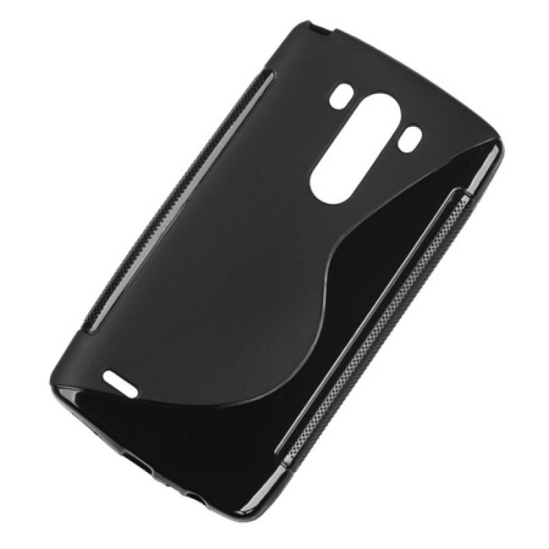 Husa Back Cover Case telefon LG G3, Negru 2021 shopu.ro