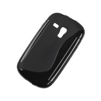 Husa Back Cover Case telefon Samsung Galaxy S3 Mini, Negru