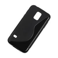 Husa Back Cover Case telefon Samsung Galaxy S5 Mini, Negru