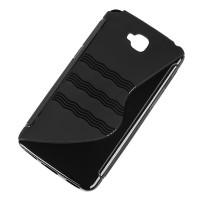Husa Back Cover telefon LG D686, Negru