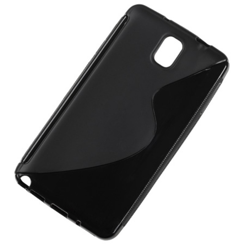 Husa Back Cover telefon Samsung Galaxy Note 3, Negru 2021 shopu.ro