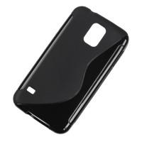Husa Back Cover telefon Samsung Galaxy S5, Negru