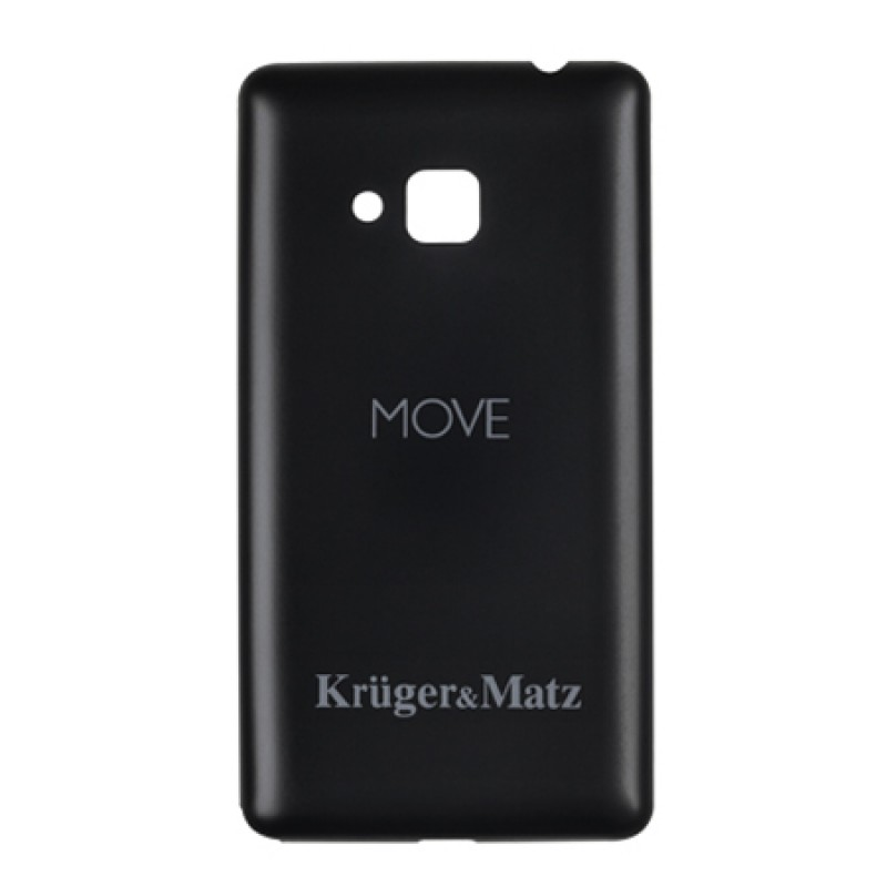 Husa Back Cover telefon Kruger & Matz Move, Negru 2021 shopu.ro