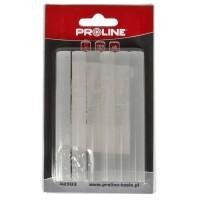 Set 12 baghete silicon Proline, 11.2 x 200 mm, Transparent