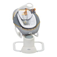 Balansoar Graco All Ways Soother Horizon, 10 cantece, carusel mobil, 0 luni+