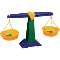 Balanta taler Learning Resources, 5 greutati de 5 g si 10 g, 61 x 35.5 cm