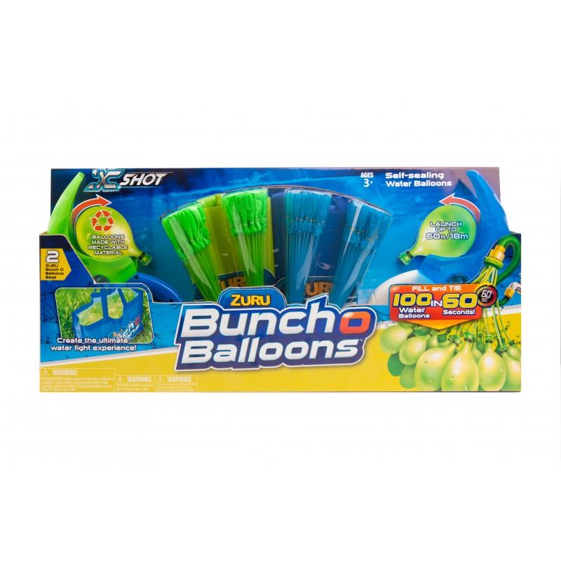 Baloane apa Zuru Bob Bunch O Balloons Rapid Fill, 2 lansatoare 2021 shopu.ro